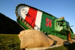 Tanks, A Soldier Returns to La Boisselle and marking 100 years.