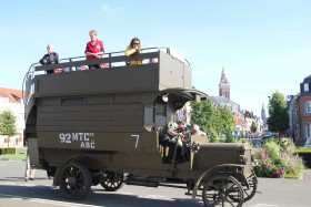 Battle Bus, Books and Biplanes