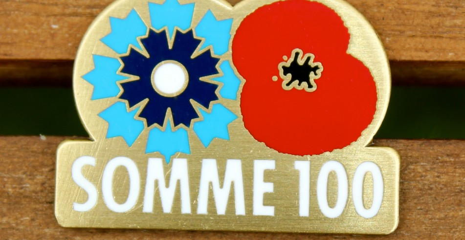 Somme 100 British Legion Pin