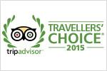 TripAdvisor Traveller's Choice 2015
